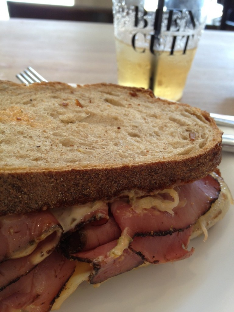 A FRENCH-EDGED REUBEN